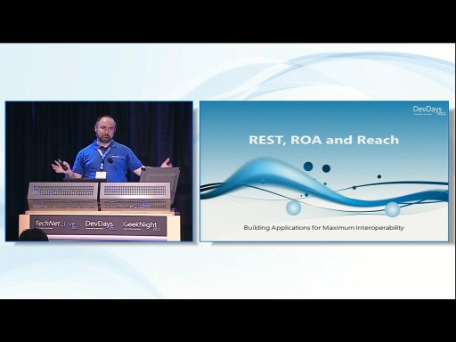 REST, ROA, and Reach: Building Applications for Maximum Interoperability