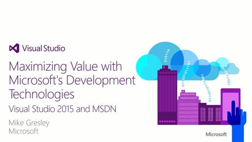 Visual Studio 2015 Overview