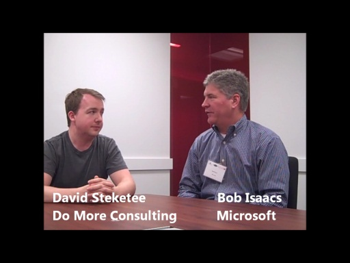 AzureCamp NYC -- Interview with David Steketee of Do More Consulting