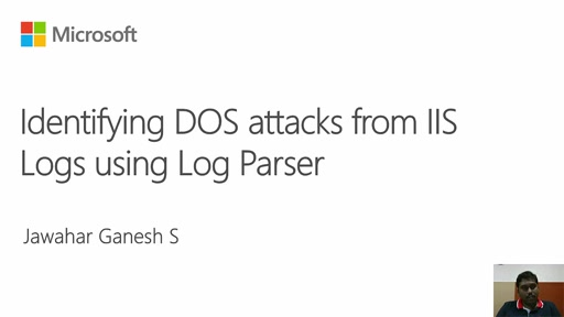 Troubleshooting IIS and ASP.NET Issues with Log Parser - DOS Attack 1