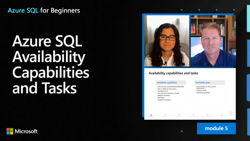 Azure SQL Availability Capabilities and Tasks (45 of 61)