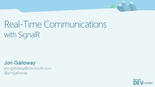 Real-Time Communication with SignalR