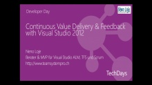Continuous Value Delivery & Feedback with Visual Studio 2012
