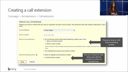 Bing Ads Train The Trainer: (03) Bing Ads Advanced Features