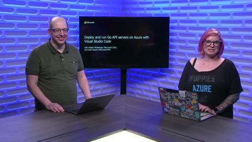 Deploy and run Go API servers on Azure with Visual Studio Code