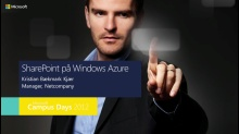Sharepoint på Windows Azure