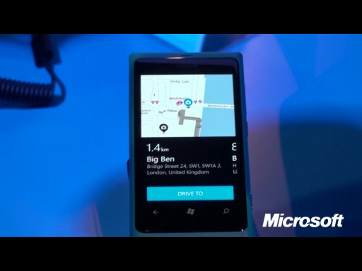 Live from Nokia World 2011:  Nokia Drive gets you where you need to go