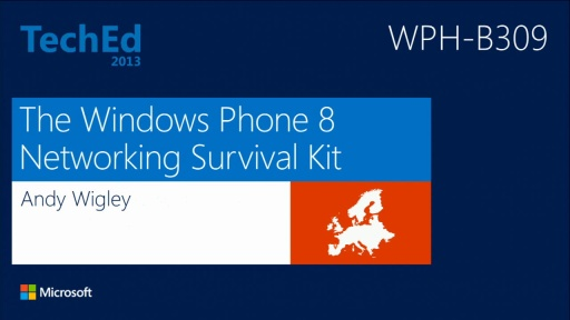 The Windows Phone 8 Networking Survival Kit
