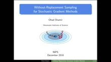 Without-Replacement Sampling for Stochastic Gradient Methods