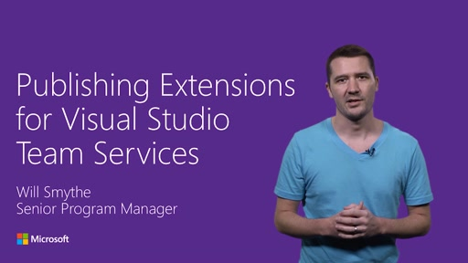 Publishing Extensions for Visual Studio Team Services