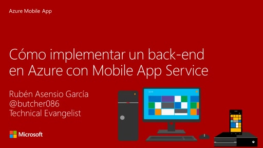 Reto 4: Creando un backend con Azure Mobile Apps