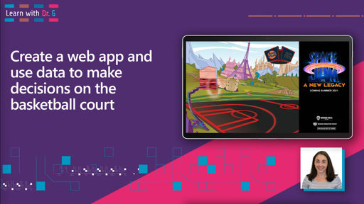 Create a web app and use data to make decisions on the basketball court | Learn with Dr G