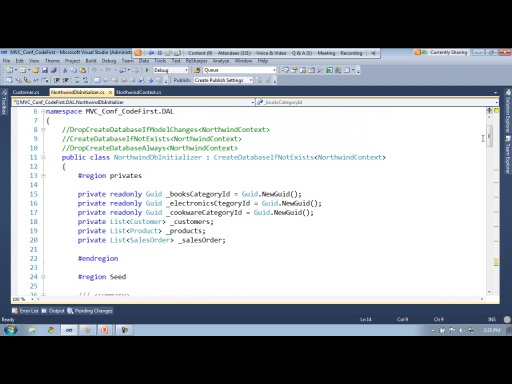 "mvcConf 2 - Chris Zavaleta: Entity Framework ""Code First"": Domain Driven CRUD"