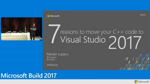 7++ reasons to move your C++ code to Visual Studio 2017