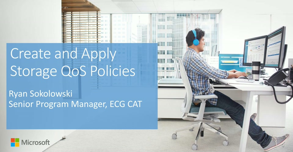 Storage QoS - Create and Apply Policies