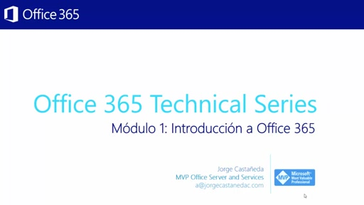 Módulo 1: Introducción a Office 365