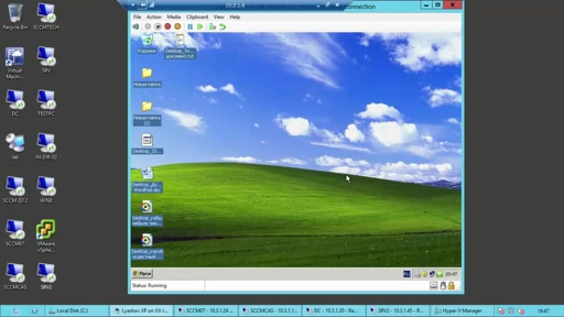 Миграция с Windows XP на Windows 8.1 при помощи System Center 2012 R2 Configuration Manager