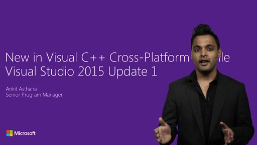 Visual Studio 2015 Update 1 improvements for native cross-platform devs