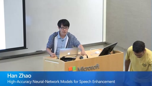 High-Accuracy Neural-Network Models for Speech Enhancement
