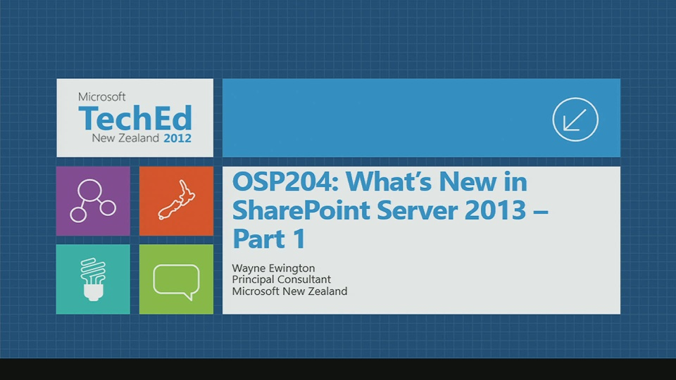 What's New in SharePoint Server 2013 - Part 1