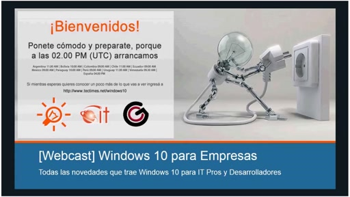 [Webcast] Windows | Windows 10 para Empresas (Sesión 2 de 2) – 08/08/2015