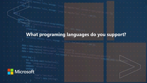 What programming languages do you support for Surface Duo development | One Dev Question
