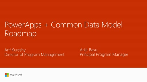 Dive into the Microsoft Common Data Model