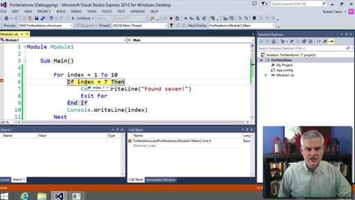 Visual Basic Fundamentals for Absolute Beginners: (09) For..Next Iterations