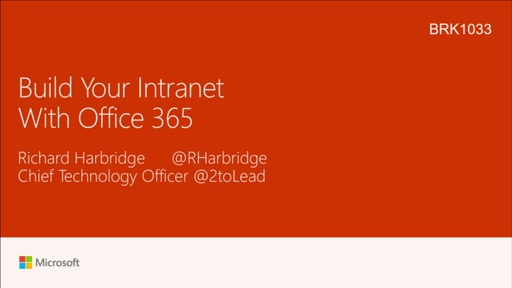 Build your intranet with Microsoft Office 365