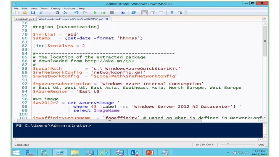 TechNet Radio: Automated Application Architecture Deployment with Windows Azure IaaS