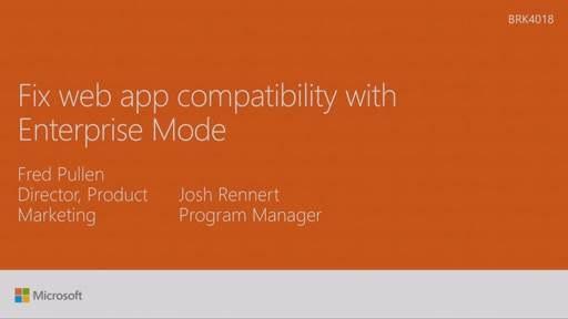 Fix web app compatibility with Enterprise Mode