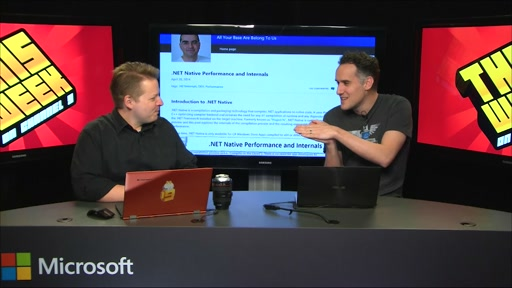 TWC9:Lang.NEXT, .NET Native Performance, .NET Framework Repair Tool and more...