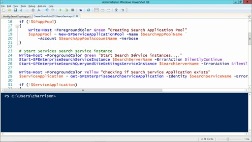 Deploying & Managing SharePoint 2013 with PowerShell: (03) Search