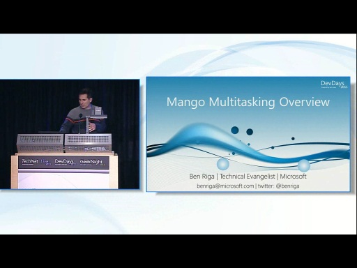 "Fast Application Switching in Windows Phone 7 codename ""Mango"""