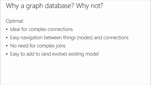 Polyglot Persistence: Choosing the Right Azure Storage Mix: (05) Graph Databases