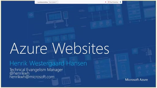 Introduktion til Azure WebSites