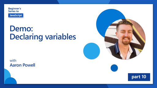 Demo:Declaring variables [10 of 51]