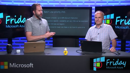 Low-Priority Virtual Machines in Azure Batch