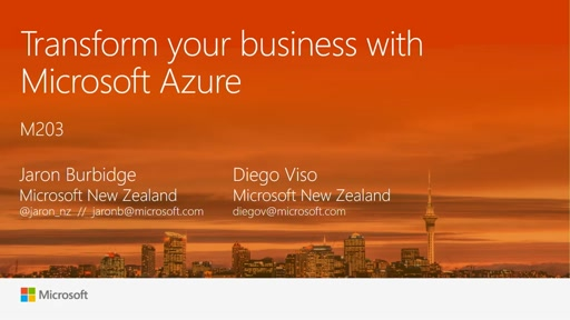 Transform your business with Azure