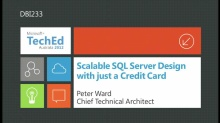 Scalable SQL Server Design with just a Credit Card
