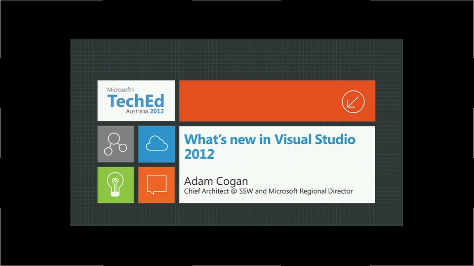 What's New in Microsoft Visual Studio 2012