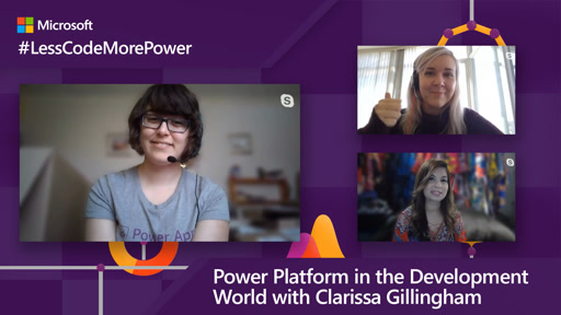 Power Platform in the Development World with Clarissa Gillingham