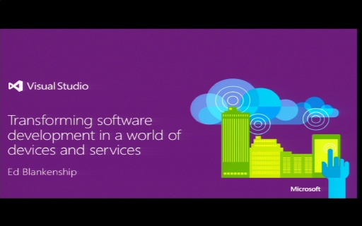 Katapult.10 – Visual Studio 2013 Launch - Keynote by Ed Blankenship