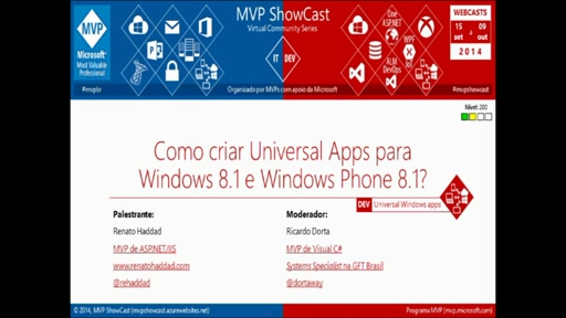 Como criar Universal Apps para Windows 8.1 e Windows Phone 8.1?