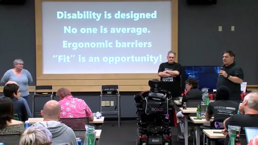 Gaming and Disability Boot Camp: Friction that Fits