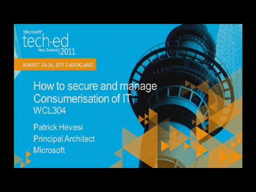 How to secure and manage Consumerisation of IT