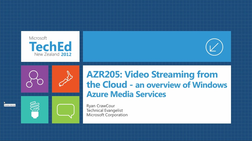 Video Streaming From The Cloud - An Overview of Windows Azure Media Services