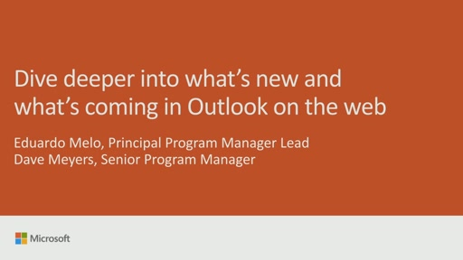 Dive deeper into what's new and what's coming in Outlook on the web