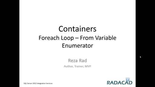 Foreach Loop   From Variable Enumerator