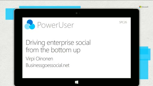 Driving enterprise social from the bottom up